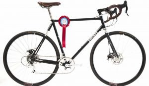 Moss Bikes Davies bicycle wins award with carbon fiber fork made in the USA by Wound Up Composite Cycles