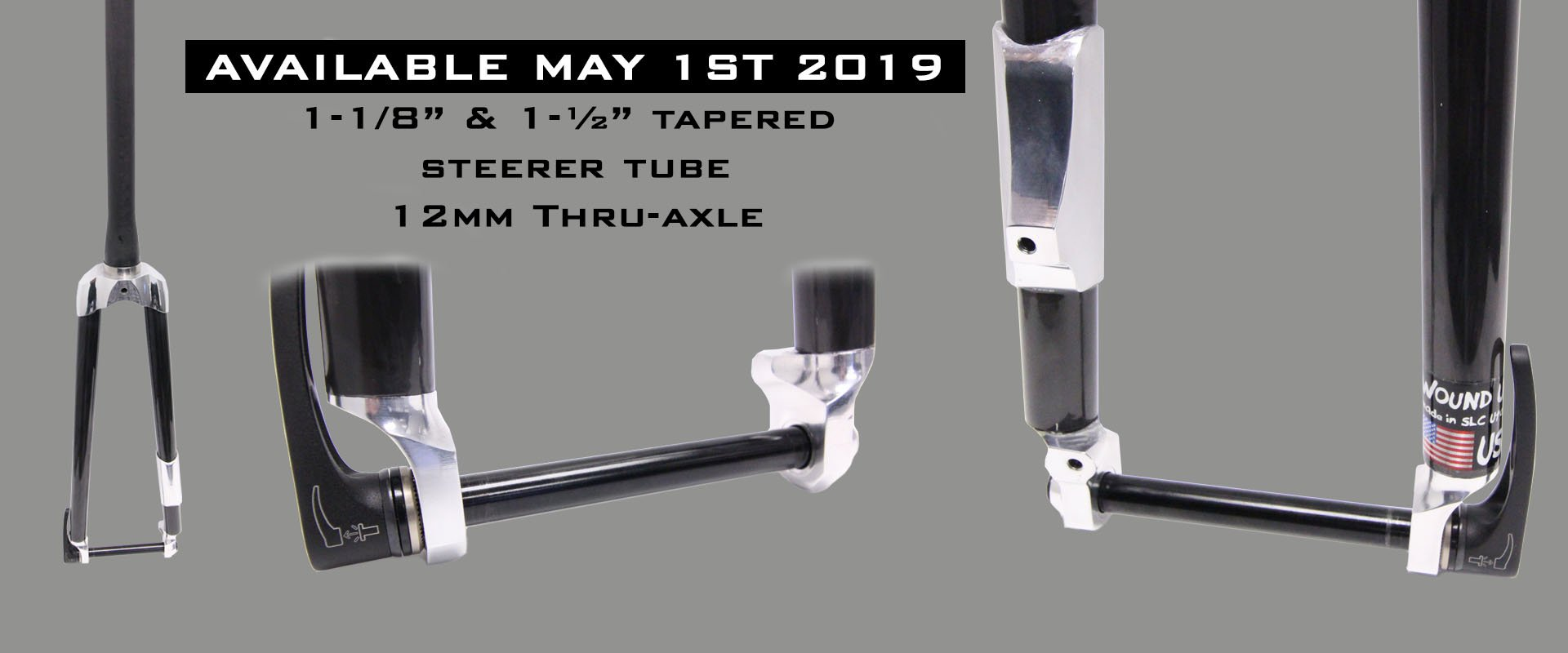 Announcing Tapered Thru-Axle Fork