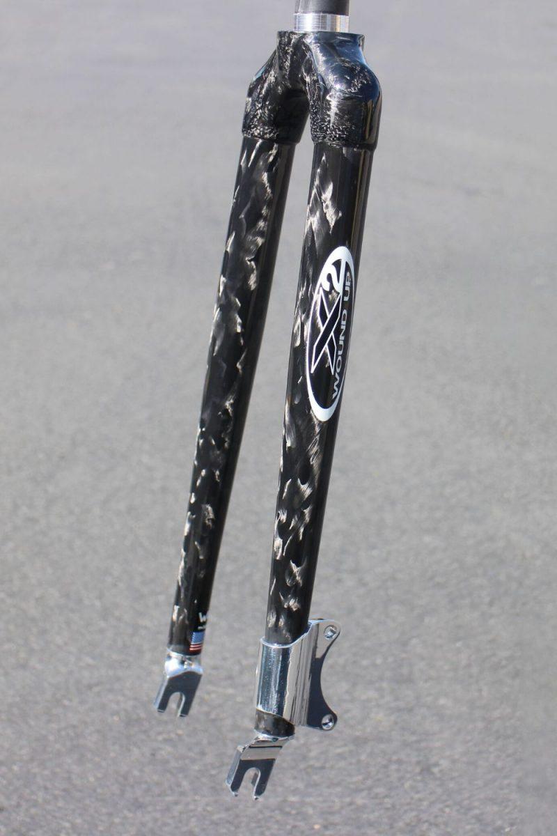 Tandem Disc Carbon Bike Fork