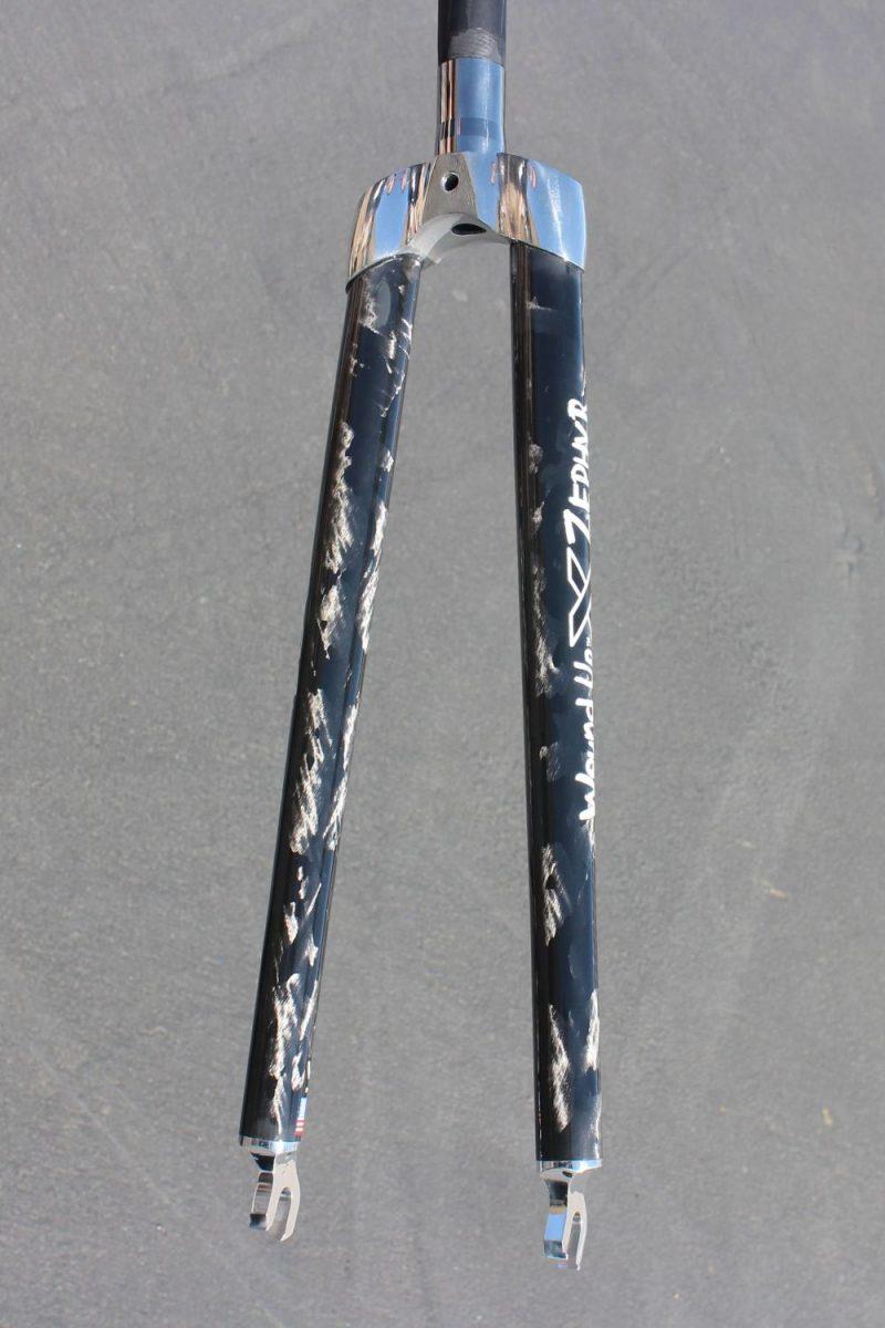 Zephyr Track Carbon Bike Fork
