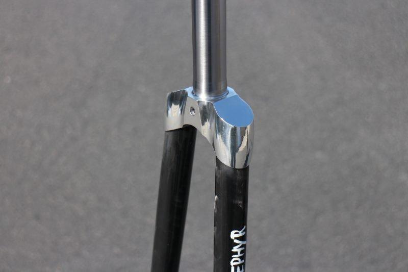 Zephyr Track Carbon bike Fork crown
