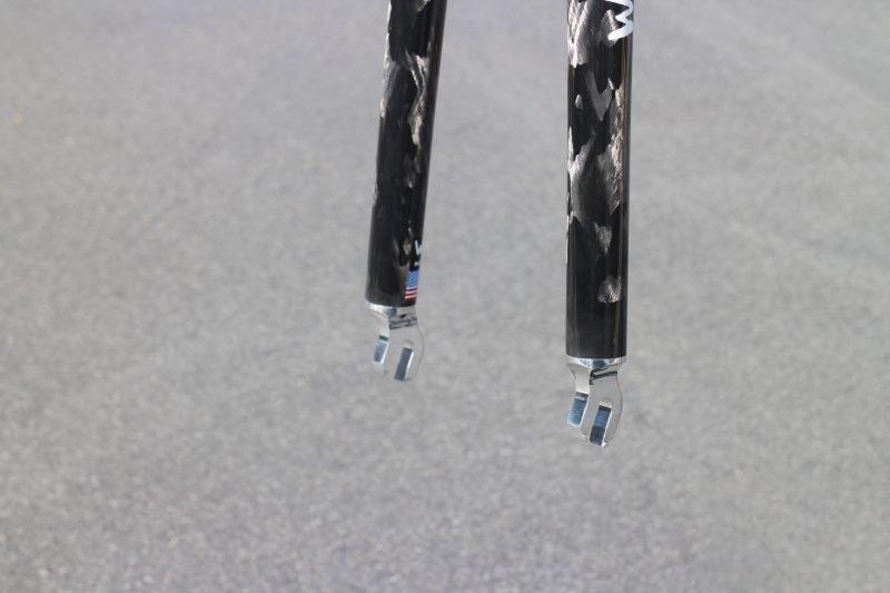 Zephyr Track Carbon Bike Fork Drop Outs