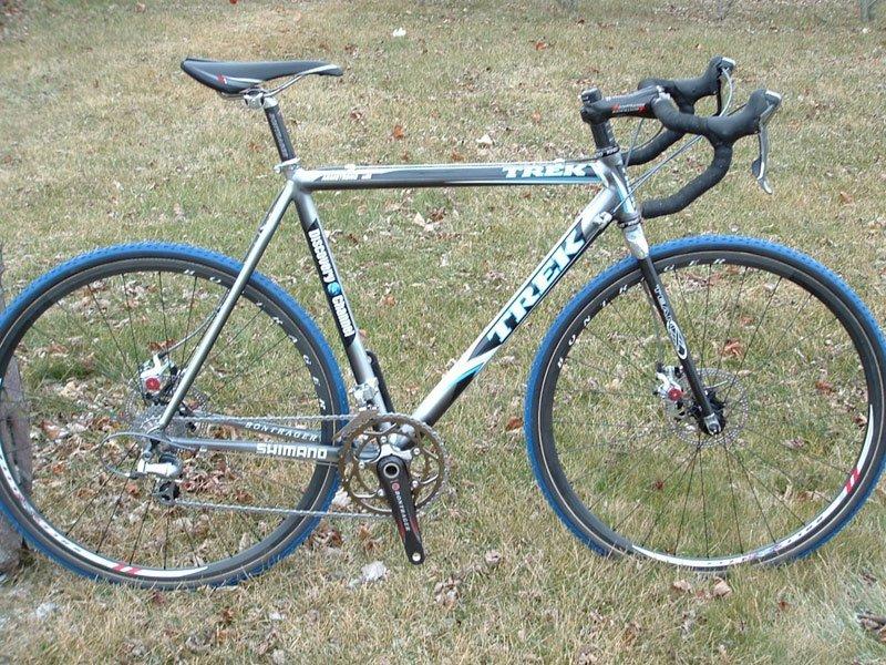 Trek Cross Cycle w/ Wound Up Carbon Bike Fork